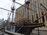 The Golden Hinde.