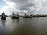 Finally past the Barrier and at the end of the Thames Path.