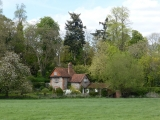 This beautiful old house is set just back from the river near to Shiplake Lock.