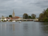 Marlow finally comes into view.