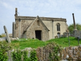 The church of St John the Baptist at Inglesham, dating from around 1205.