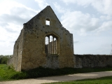 The ruins of Godstow Abbey.